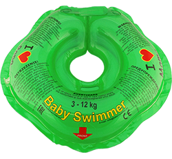 Baby Swimmer™ 'I love' green