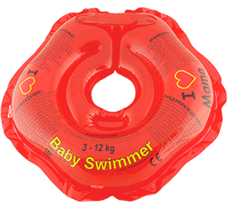 Baby Swimmer™ 'I love' red