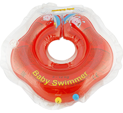 Baby Swimmer™ 'Basic 0-24' red